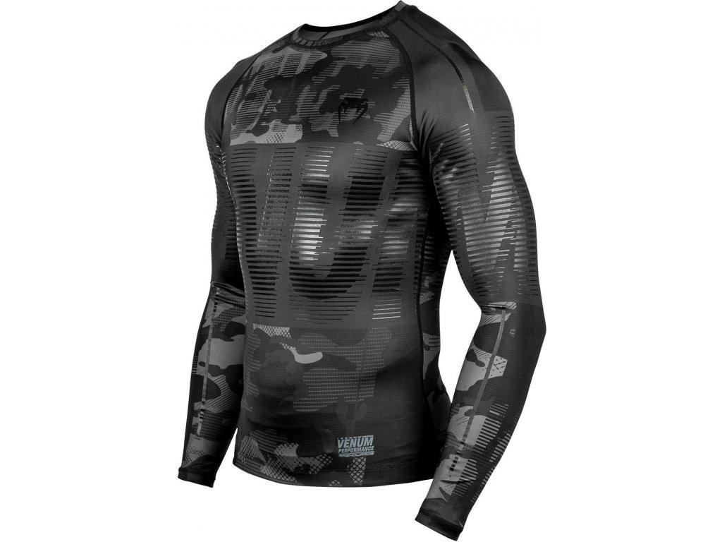 Rashguard Venum Tactical - Long Sleeves - Urban Camo Black/Black