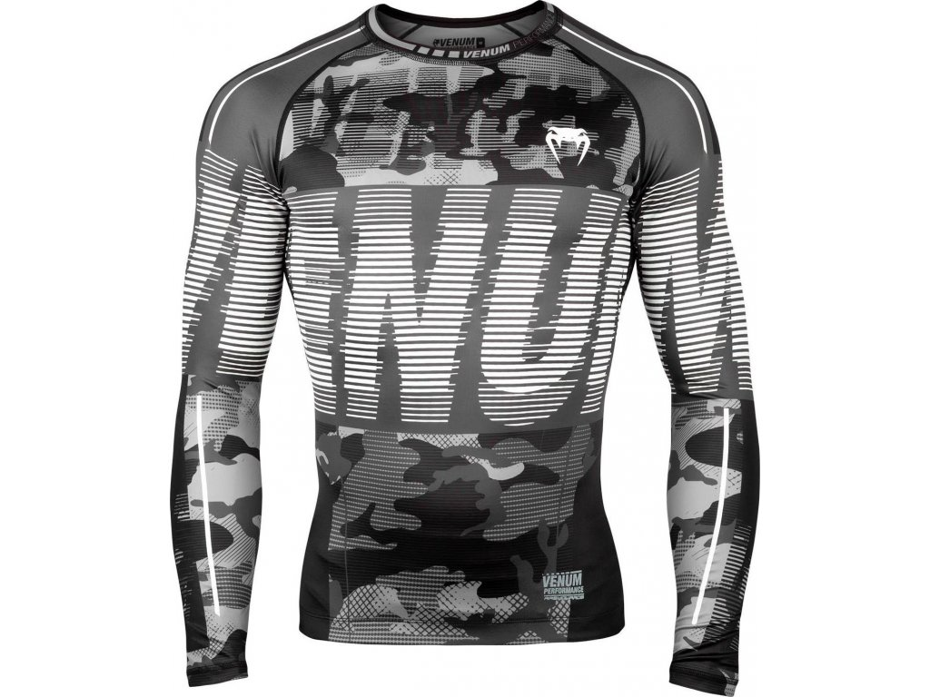 Rashguard Venum Tactical - Long Sleeves - Urban Camo/Black