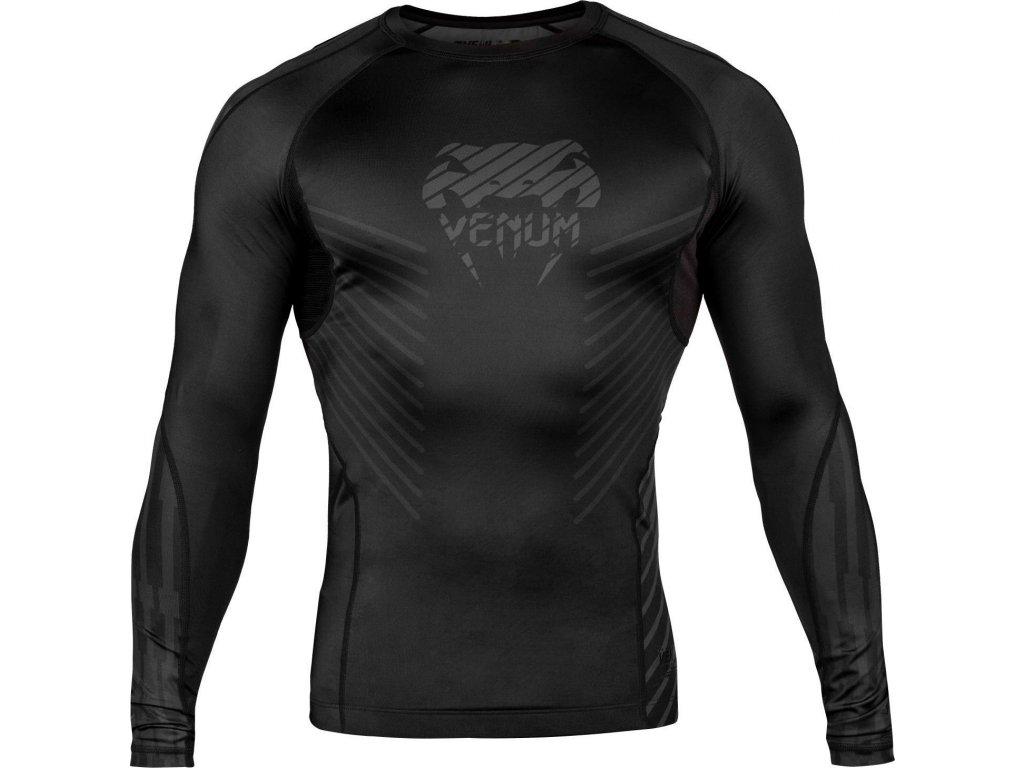 Rashguard Venum Plasma - Long Sleeves - Black/Black