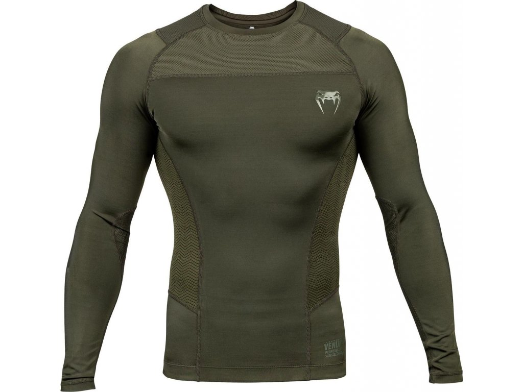 Rashguard Venum G-FIT - Long Sleeves - Khaki