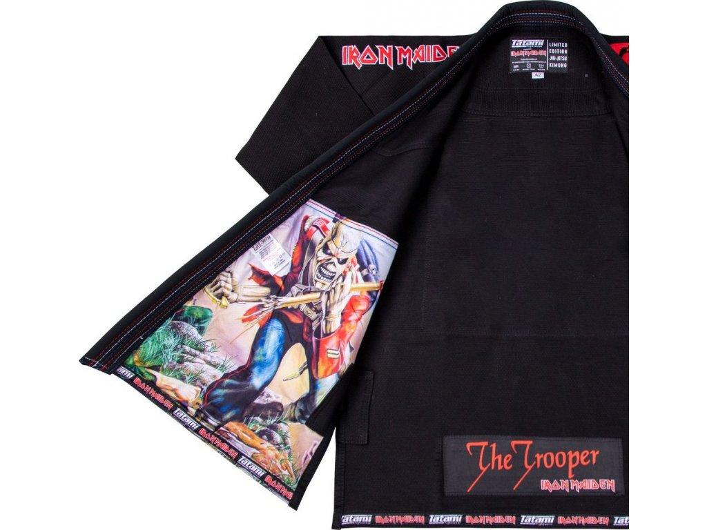 BJJ gi kimono Tatami Iron Maiden Trooper