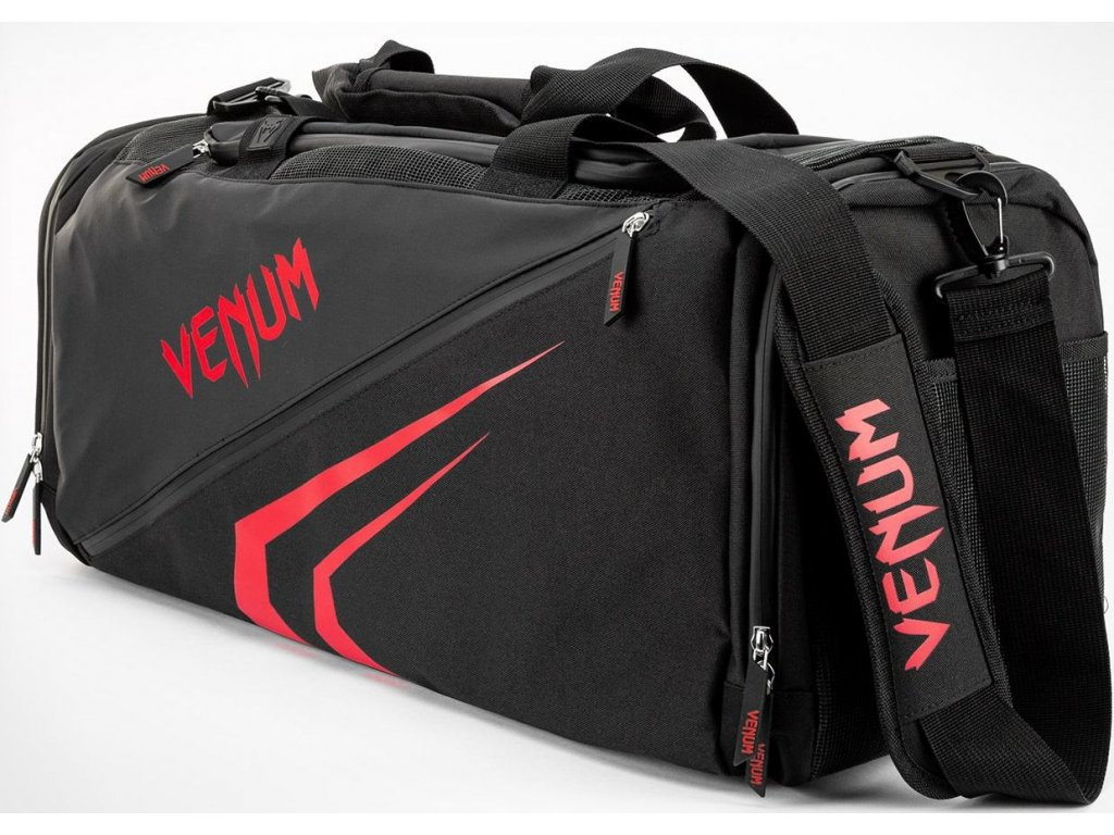 Sports Bag Venum Trainer Lite Evo - Black/Red