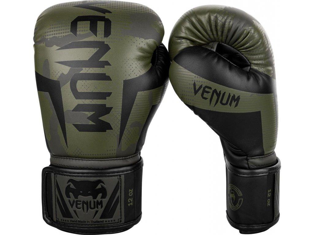 Boxing Gloves Venum Elite - Khaki Camo