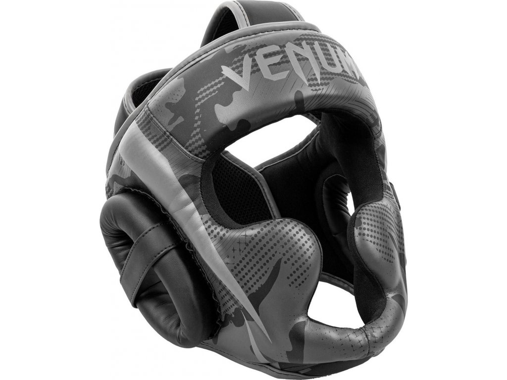 Box/MMA Headgear Venum Elite - Black/Dark Camo
