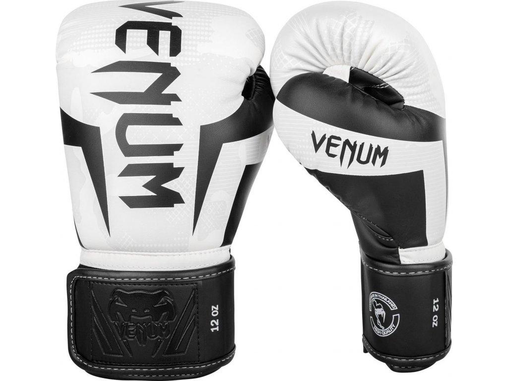 Boxing Gloves Venum Elite - White/Camo