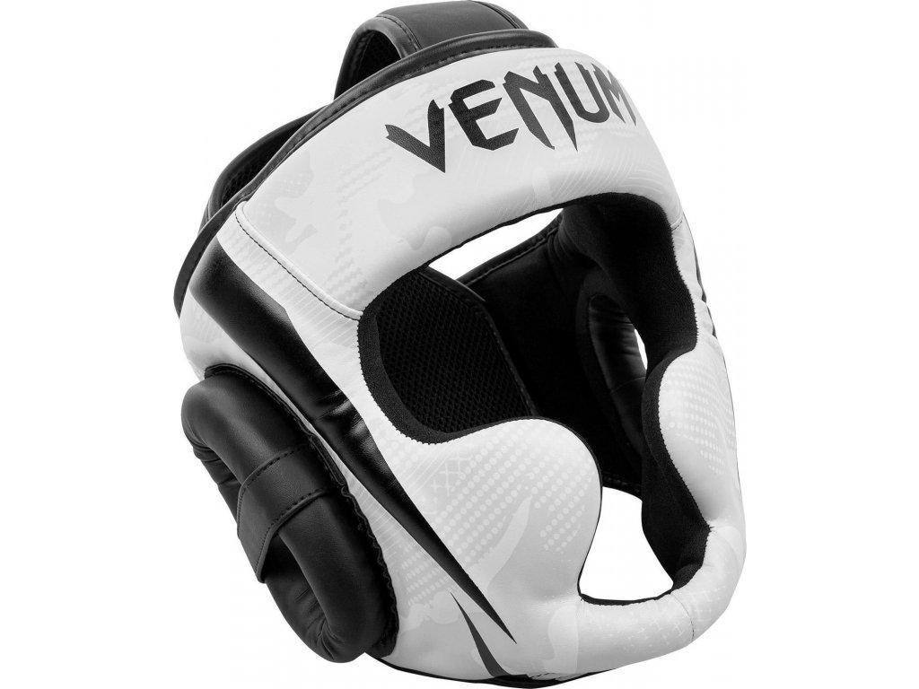 Box/MMA Headgear Venum Elite - White/Camo