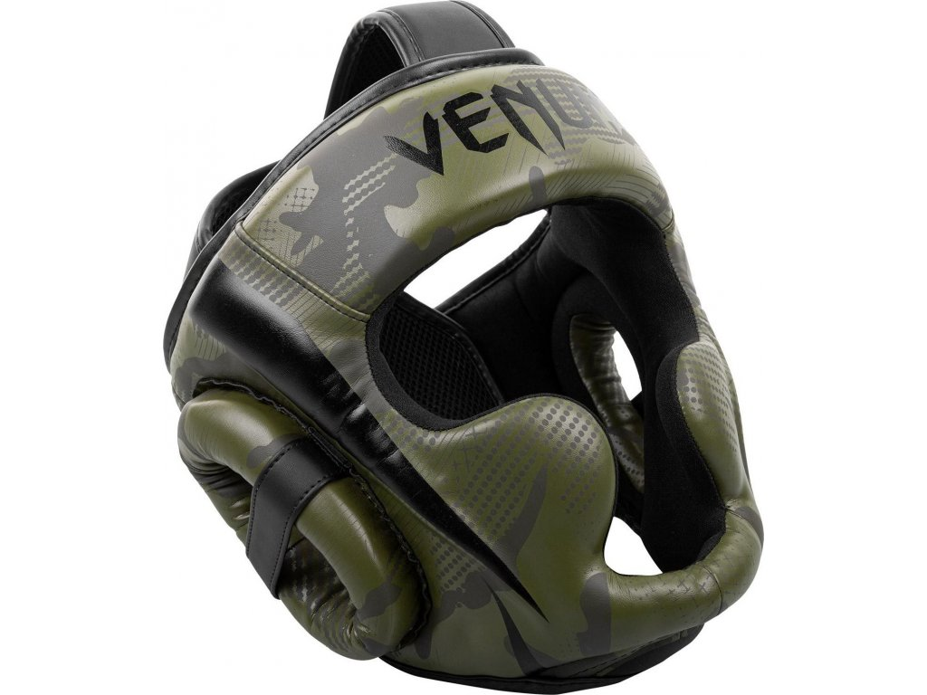 Box/MMA Headgear Venum Elite - Khaki Camo