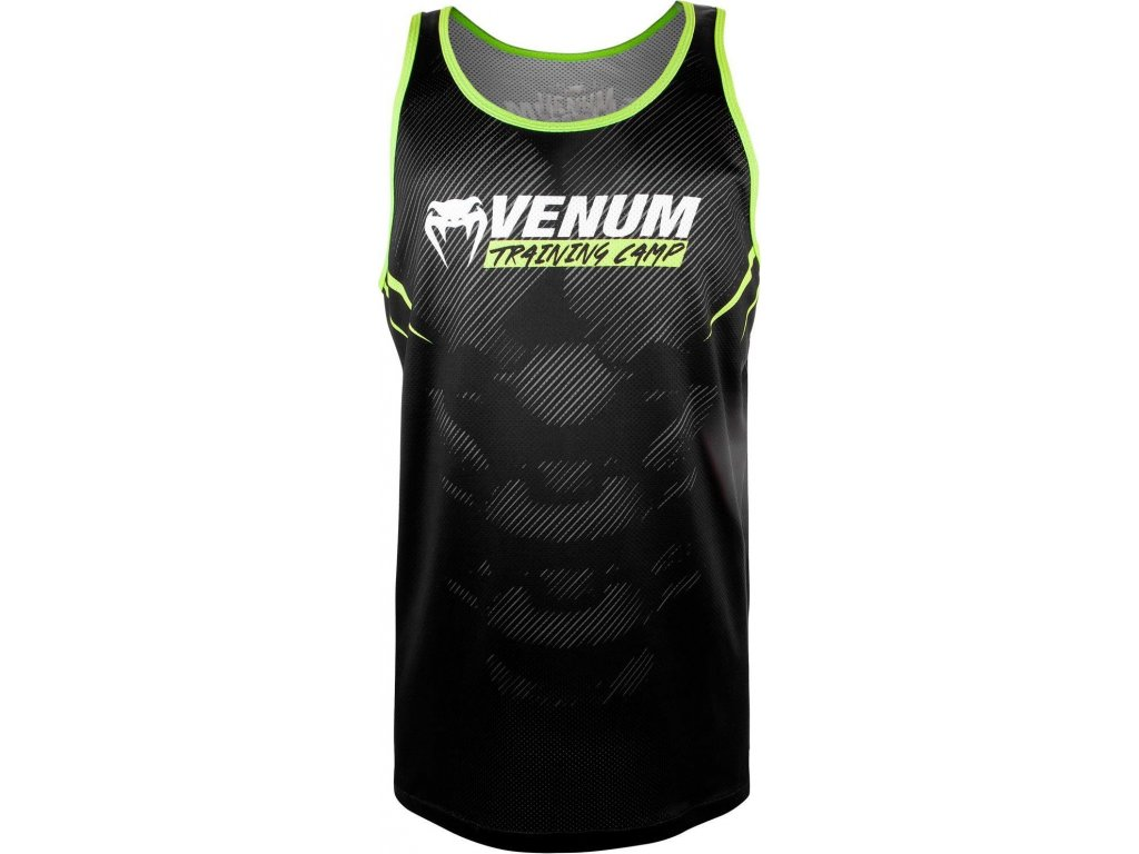 Tank Top Venum Training Camp 2.0 - Black/Neo Yellow