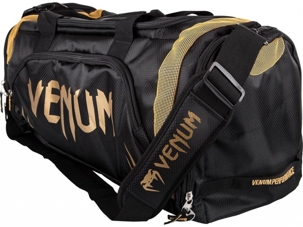 Sports Bag Venum Trainer Lite - Black/Gold