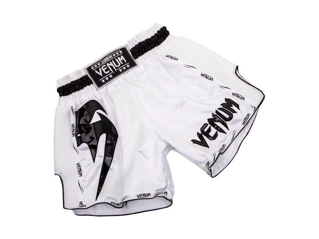Muay Thai Shorts Venum Giant - White/Black