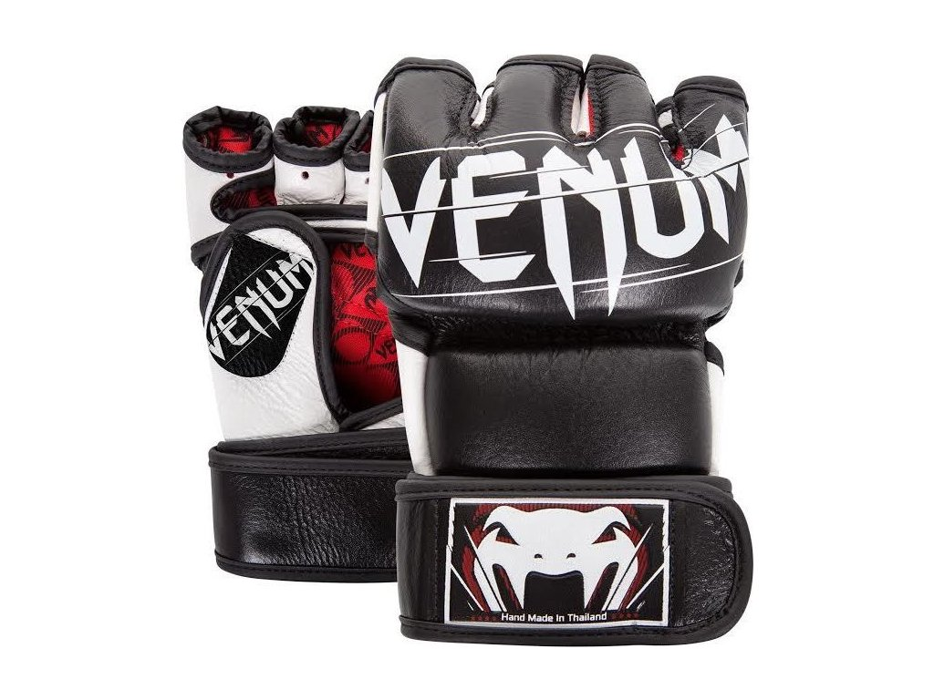 MMA Gloves Venum Undisputed 2.0 - Nappa Leather - Black/White