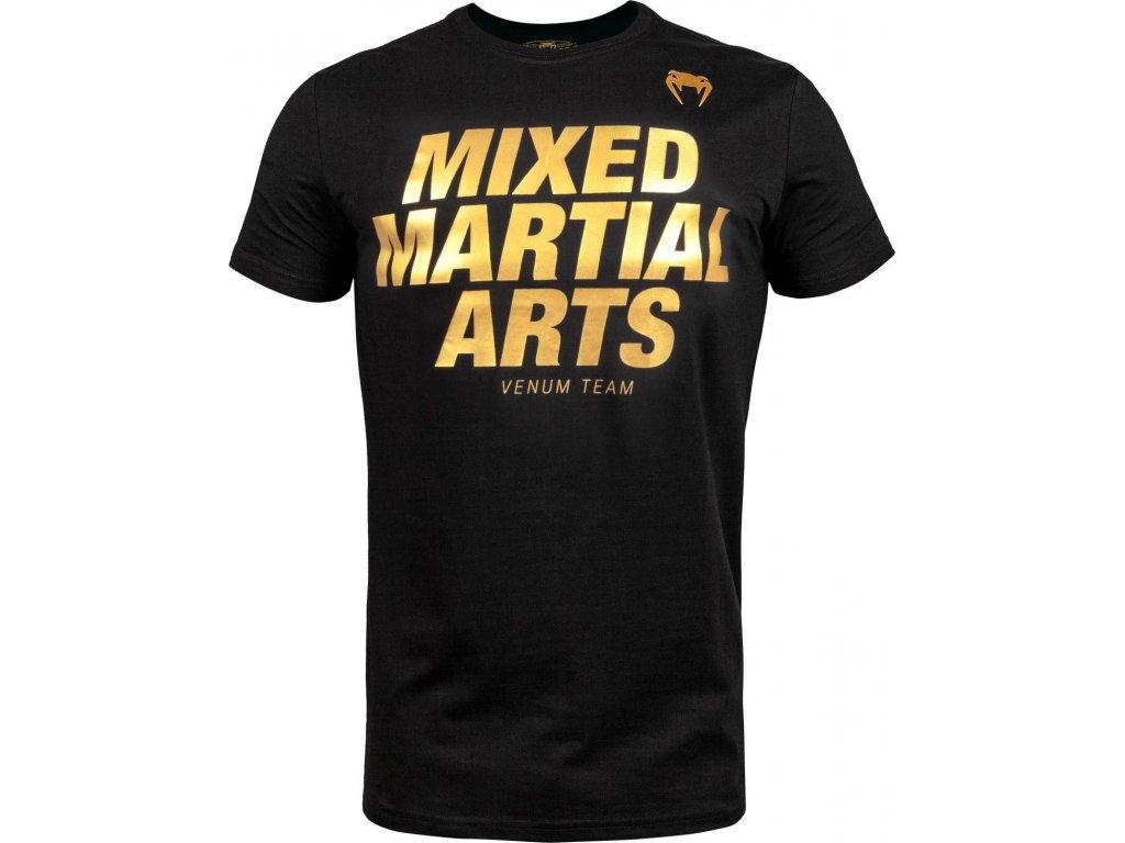 T-Shirt Venum MMA VT - Black/Gold