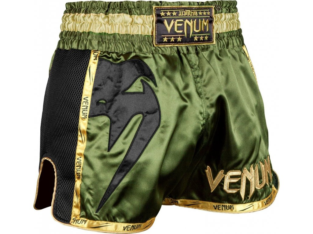 Muay Thai Shorts Venum Giant - Khaki/Black
