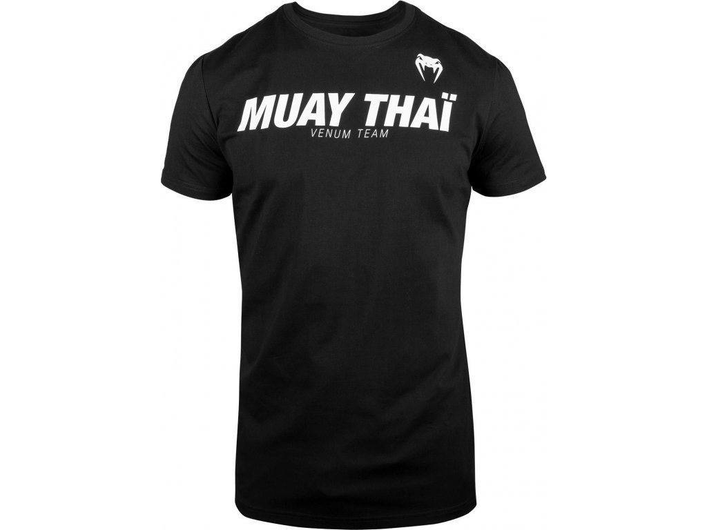 T-Shirt Venum Muay Thai VT - Black/White