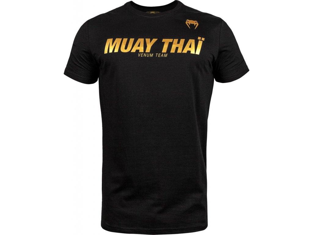 T-Shirt Venum Muay Thai VT - Black/Gold