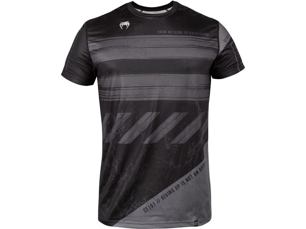 T-Shirt Venum Amrap Dry Tech - Black/Grey