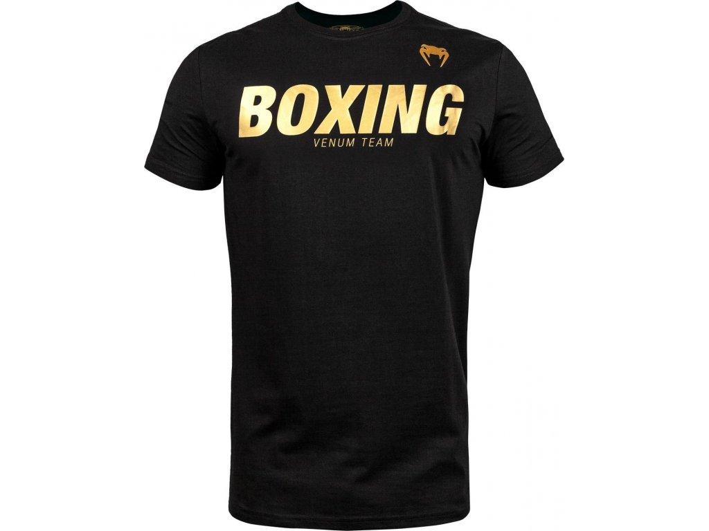 T-Shirt Venum Boxing VT - Black/Gold