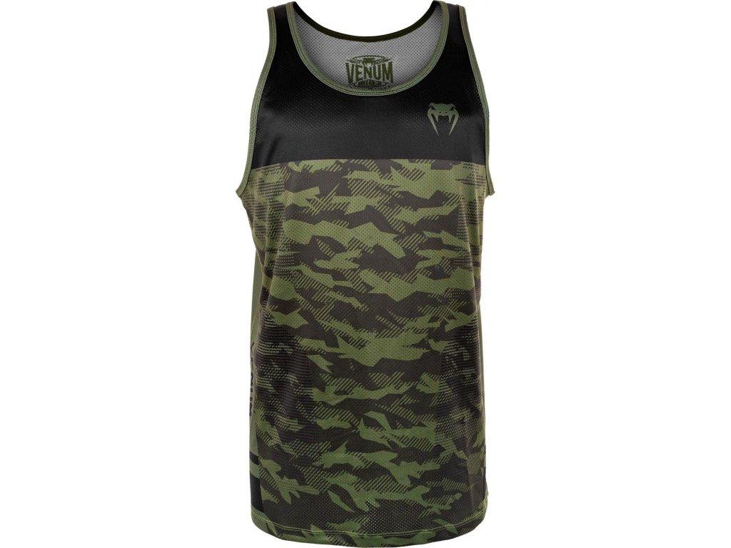 Men's Tank Top Venum Trooper - Forest Camo/Black