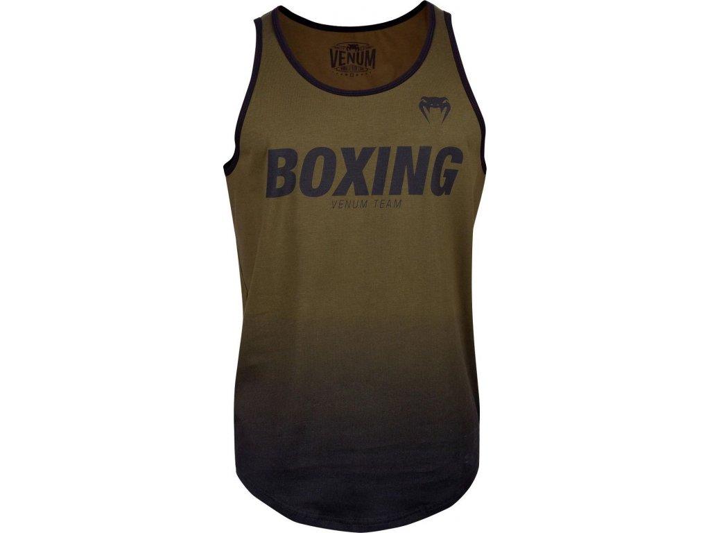 Men's Tank Top Venum Boxing VT - Khaki/Black