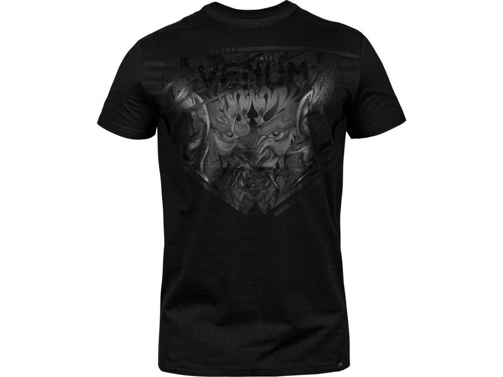 T-Shirt Venum Devil - Black/Black