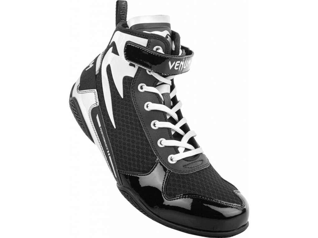 Boxing Shoes Venum Giant Low - Black/White