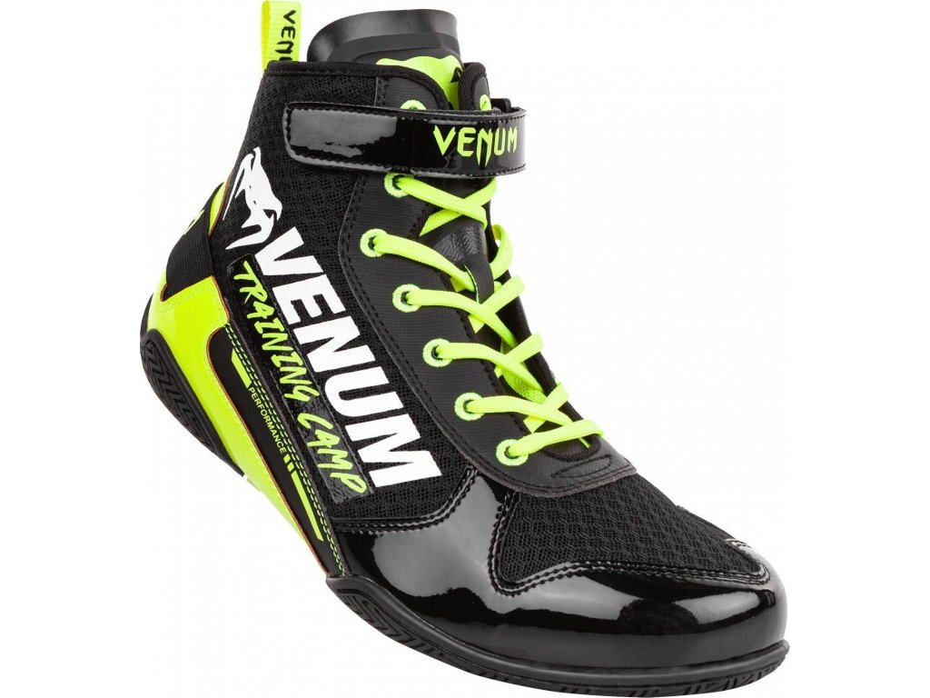 Boxing Shoes Venum Giant VTC2 Edition Low - Black/Neo Yellow