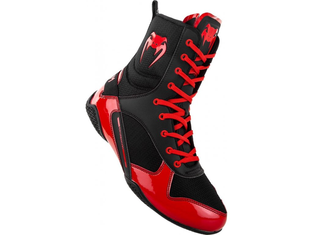 Boxing Shoes Venum Elite - Black/Red