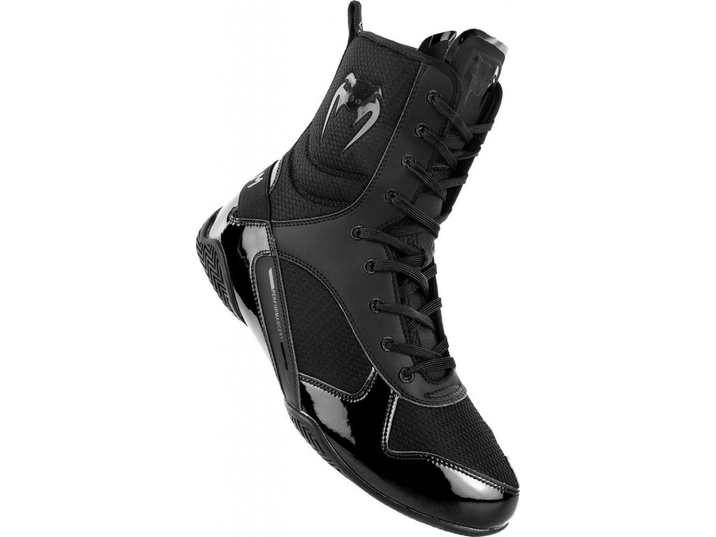 Boxing Shoes Venum Elite - Black/Black