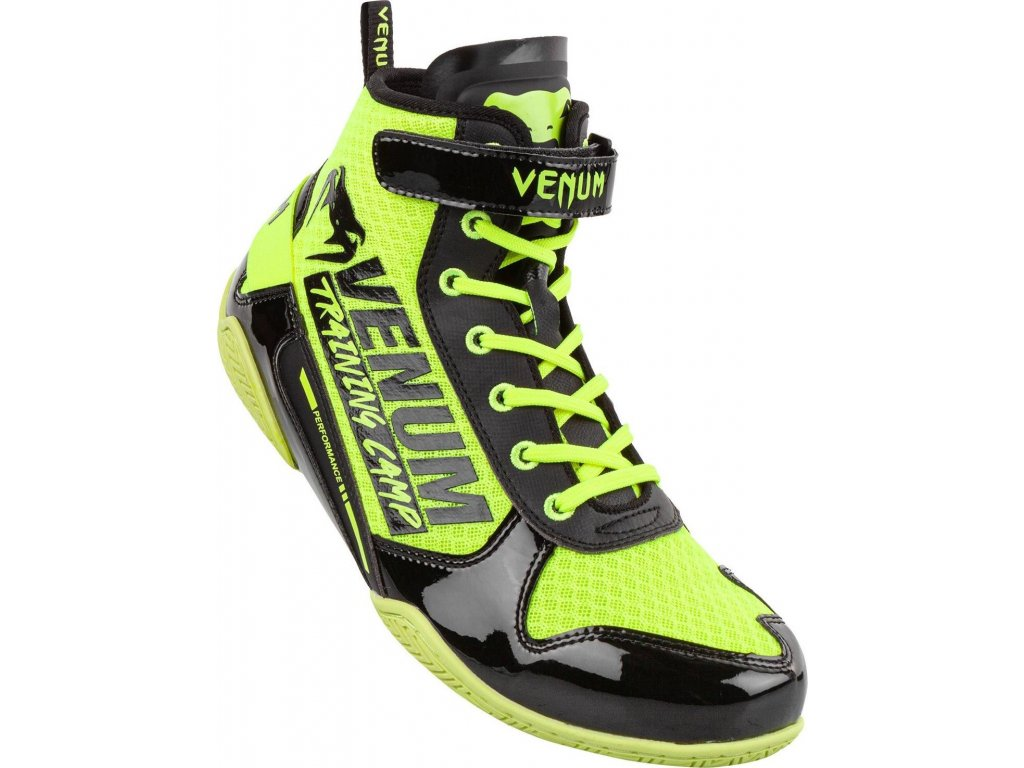 Boxing Shoes Venum Giant VTC2 Edition Low - Neo Yellow/Black