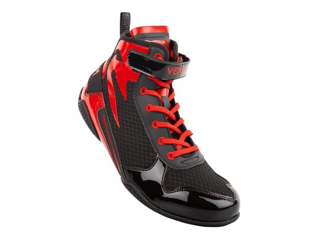 Boxing Shoes Venum Giant Low - Black/Red