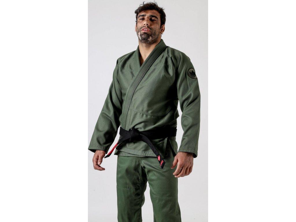 BJJ gi kimono Kingz Classic Jiu Jitsu 3.0 - Millitary green