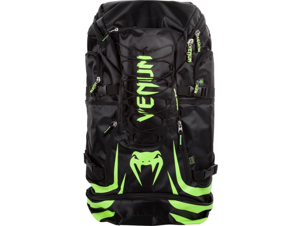 Backpack Venum Challenger Xtrem - Black/Neo Yellow