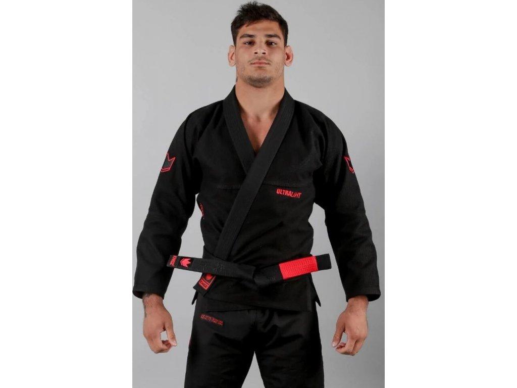 BJJ gi kimono Kingz Ultralight 2.0 - Black