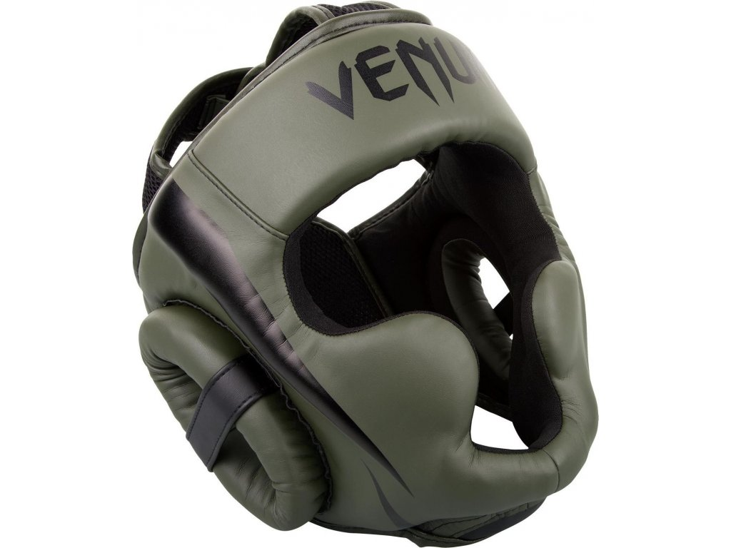 Box/MMA Headgear Venum Elite - Khaki/Black