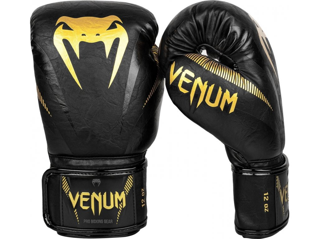 Boxing Gloves Venum Impact - Gold/Black