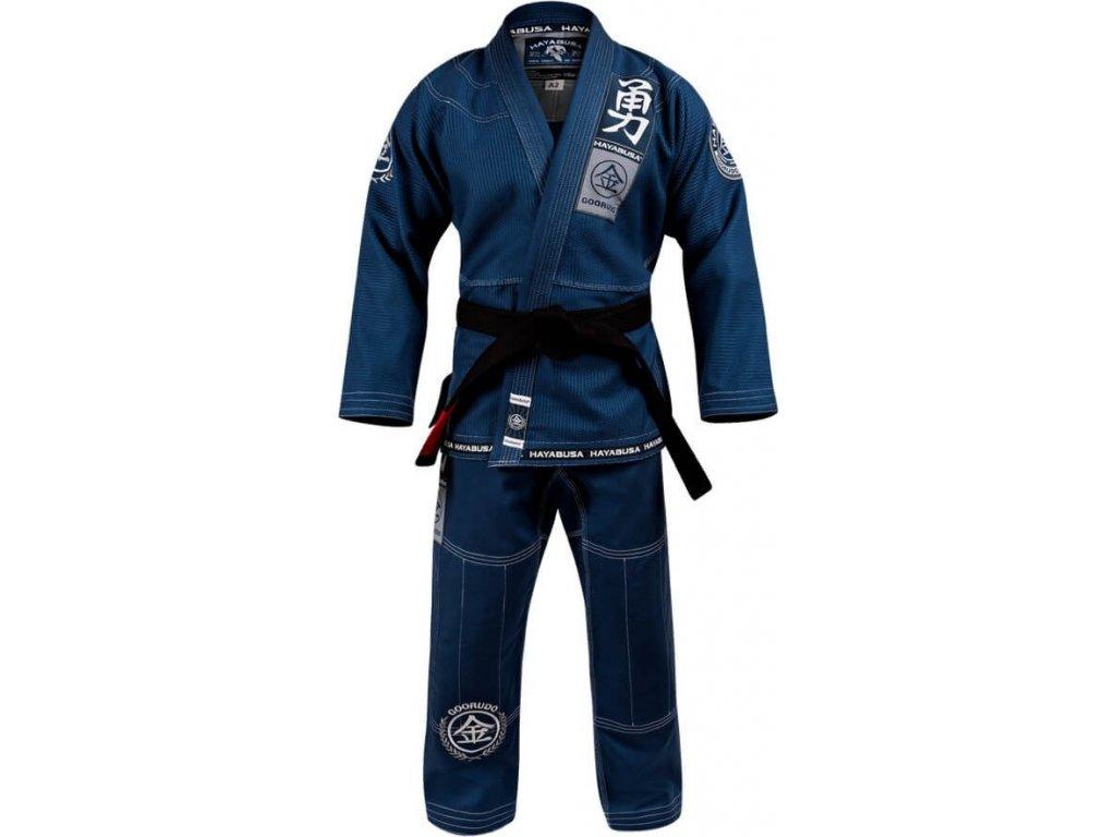 BJJ kimono Gi Hayabusa Goorudo 3 Gold Weave - Blue