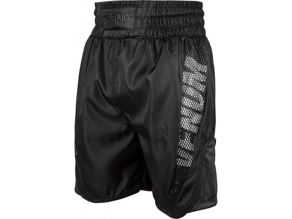 Boxing Shorts Venum Elite - Black/Black