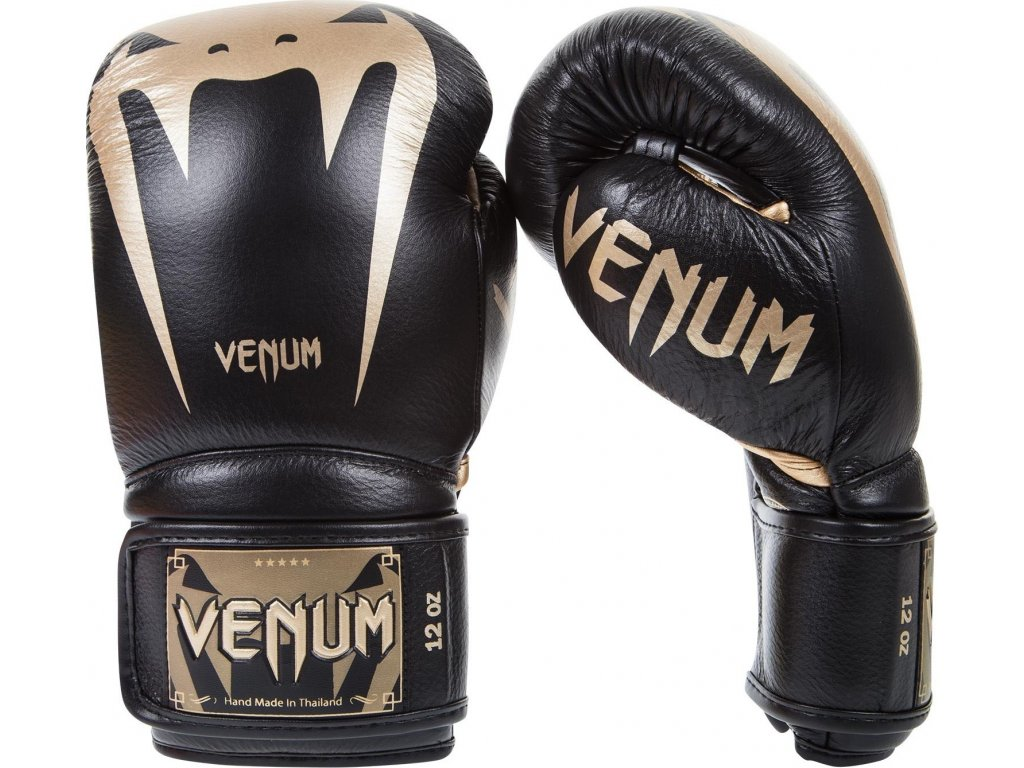 Boxing Gloves Venum Giant 3.0 - Nappa Leather - Black/Gold