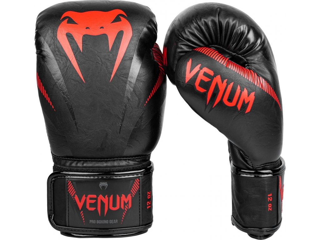Boxing Gloves Venum Impact - Black/Red