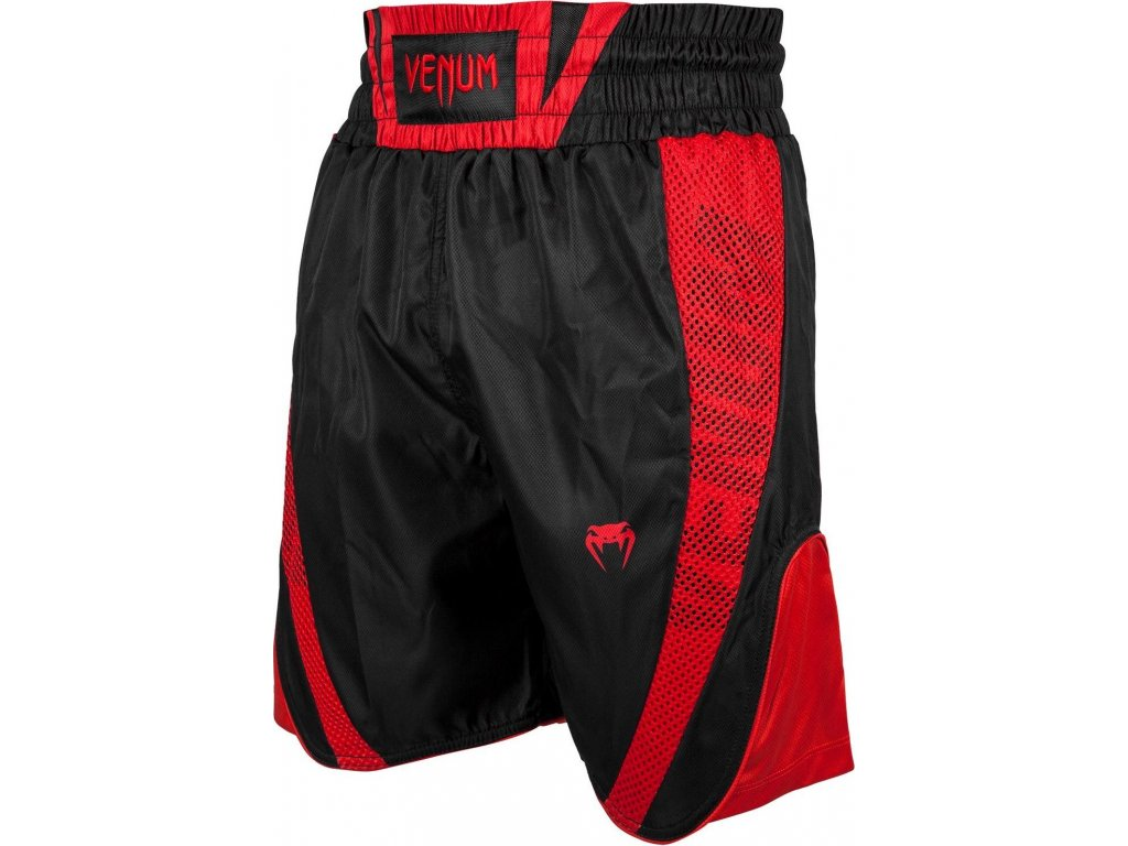 Boxing Shorts Venum Elite - Black/Red