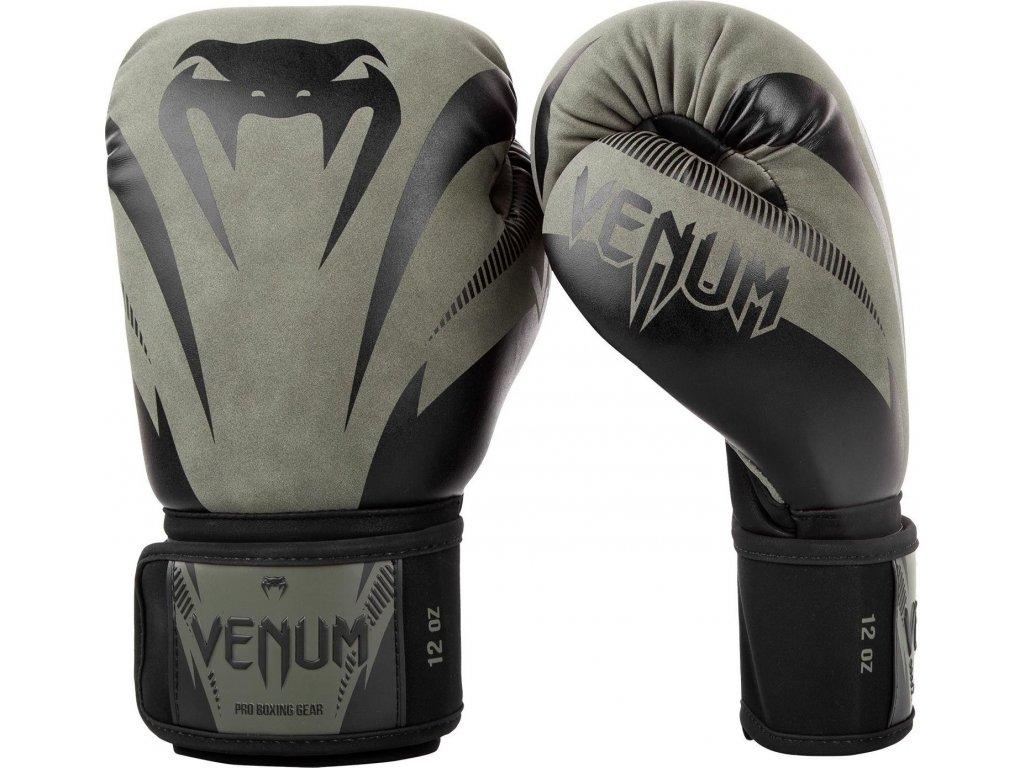 Boxing Gloves Venum Impact - Khaki/Black