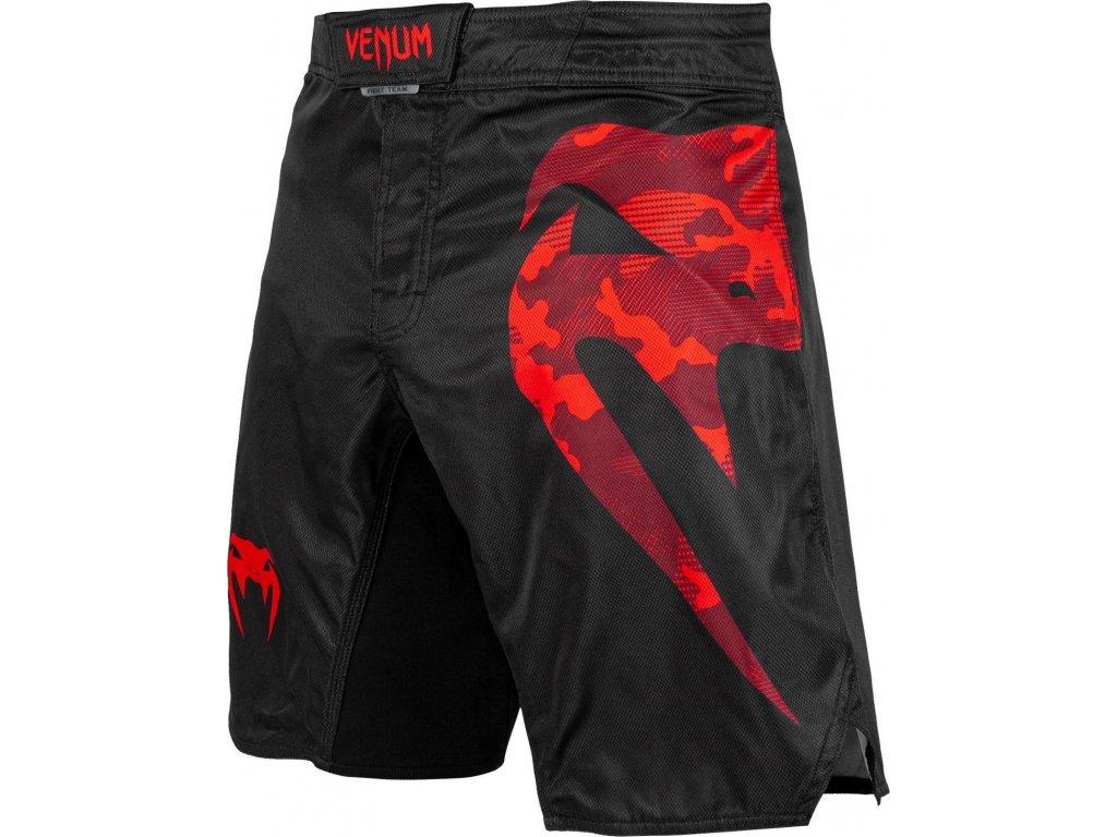 MMA Shorts Venum Light 3.0 - Black/Red