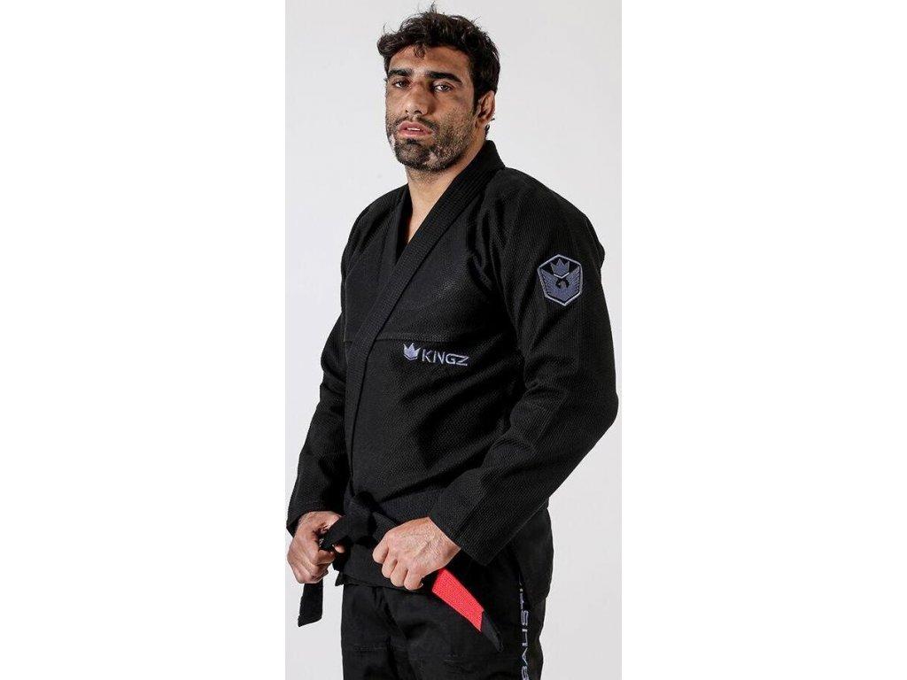 BJJ kimono gi Kingz Balistico 3.0 - Black