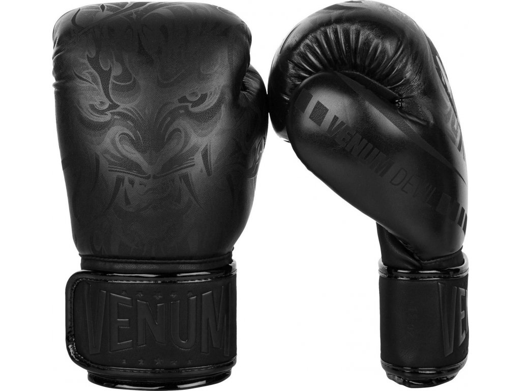 Boxing Gloves Venum Devil - Black/Black