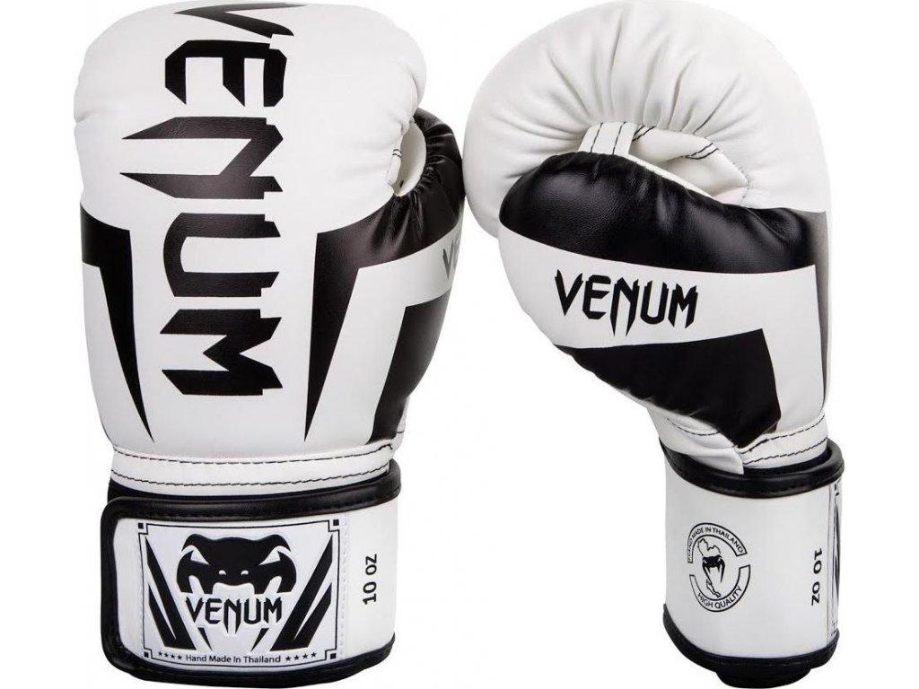 Boxing Gloves Venum Elite - White/Black