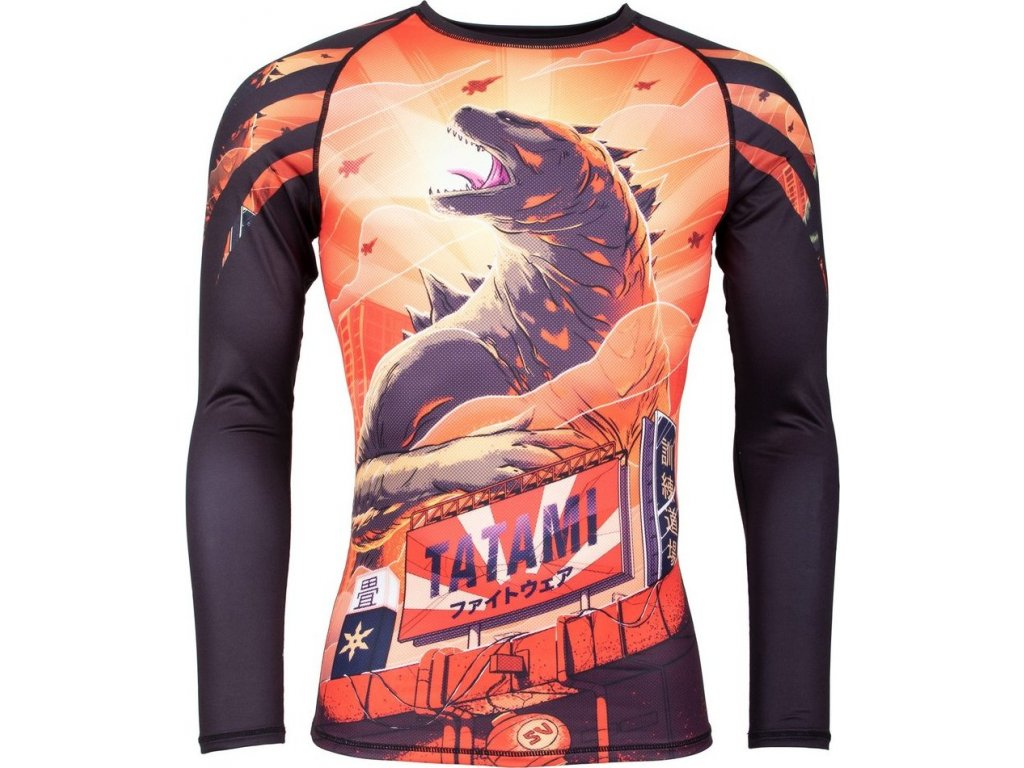 Rashguard Tatami Godzilla - Long Sleeves