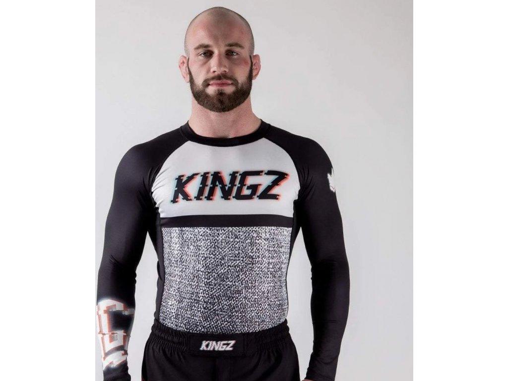 Rashguard Kingz Static - Long Sleeves