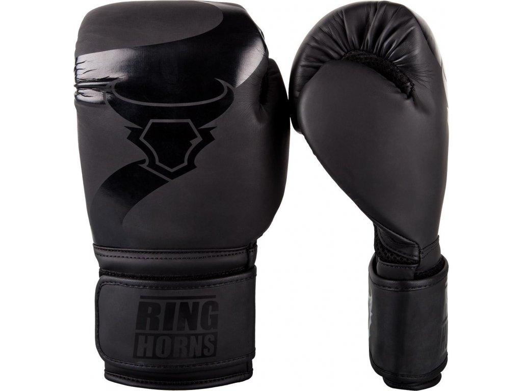 Boxing Gloves Ringhorns Charger - Black/Black