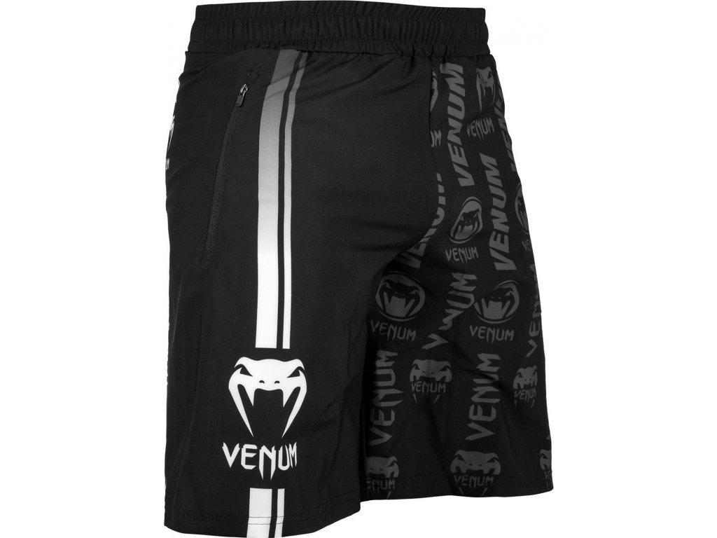 Training Shorts Venum Logos - Black/White