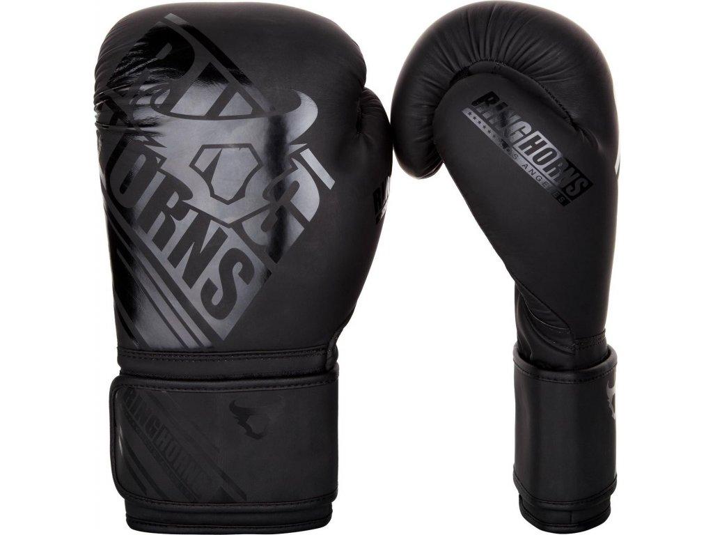 Boxing Gloves Ringhorns Nitro - Black/Black